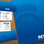 Beton Plus - Fascikla i vizit kartice