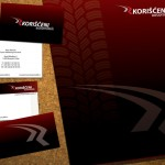 Korišćeni automobili - Fascikla i vizit kartice